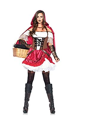 Leg Avenue Women's Rebel Riding Hood