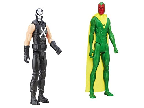 [Hot NEW Best Seller Marvel Avengers Titan Hero Series 2-Pack, Crossbones and Vision] (Scooby Doo Homemade Costume)