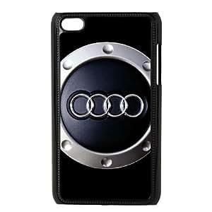 iPod Touch 4 Case Black Audi Nkad