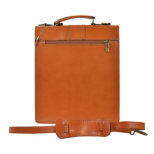 Cm Belt Leather In Shoulder Business 27x32x10 Made Briefcase Genuine Italy Bag D7012 Man's With Ctm 8w4fx6Yq8