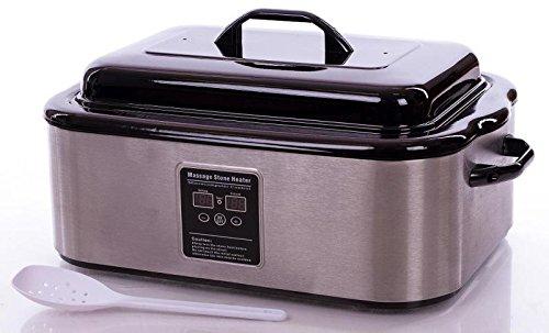 Professional Digital Temperture Control 18 Quart Massage Hot Stone Warmer (18Q Stone Heater) MT