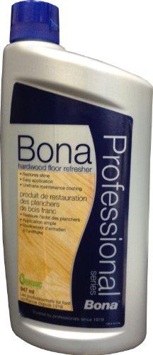 Bona Professional Series WT760051166 Hardwood Floor Refresher, 32-Ounce (Best Hardwood Floor Refinisher)