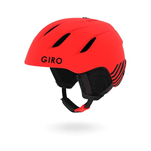 Giro Nine Jr. Kids Snow Helmet Matte Bright Red Zoom SM 52-55.5cm