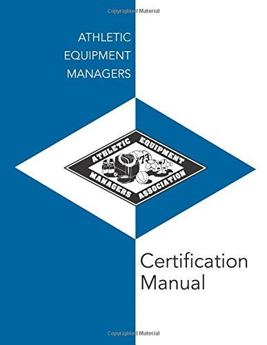 Athletic Equipment Managers Certification Manual by Strauf Dale (2014-06-30) Paperback