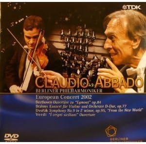 ヨーロッパコンサート2002 ドヴォルザーク《新世界より》他 [DVD]