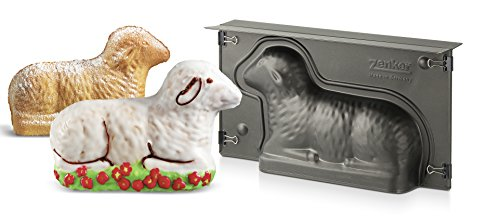 Zenker 9101''Special Season'' Lamb-Baking Tin, Black, 10.83 x 5.90 x 2.56'' by Zenker (Image #1)