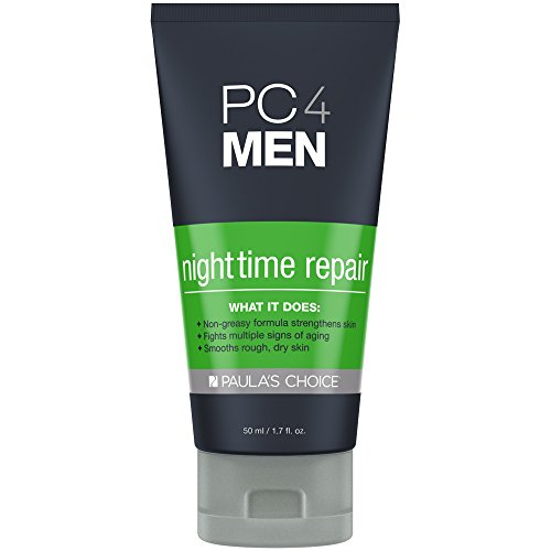 Price comparison product image Paula's Choice PC4MEN Nighttime Repair Men's Moisturizer with Retinol, 1.7 oz (1 Bottle) for Normal, Dry, Oily, Combination, and Sensitive Skin of the Face and Neck