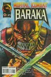 Mortal Kombat: Baraka #1 VF/NM ; Malibu comic book -
