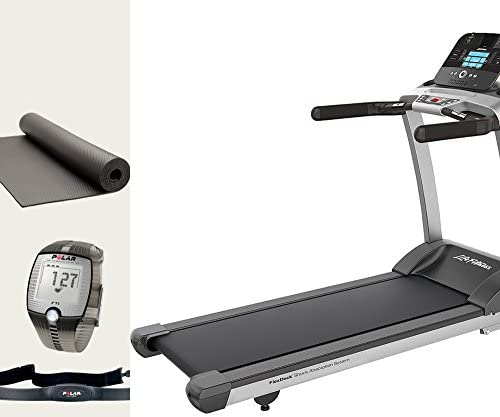 Life fitness F3 Track cinta de correr incluye, Polar Pulsómetro y ...
