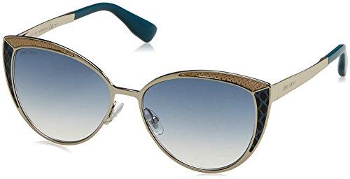 Jimmy Choo Domi/S Sunglasses Light Gold / Gray - 2017 Glasses Choo Jimmy