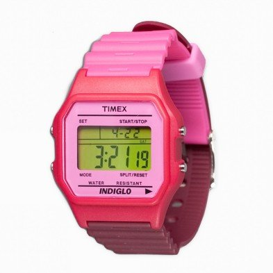 Timex-Reloj-de-cuarzo-T80-Classic-Fucsia-Granate-34-mm