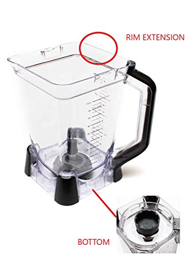 Ninja Replacement 72oz XL Pitcher Updated Design - Mega, Supra, BL773CO (Replacement 72 Ninja)