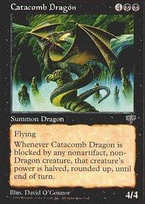 - Magic: the Gathering - Catacomb Dragon - Mirage