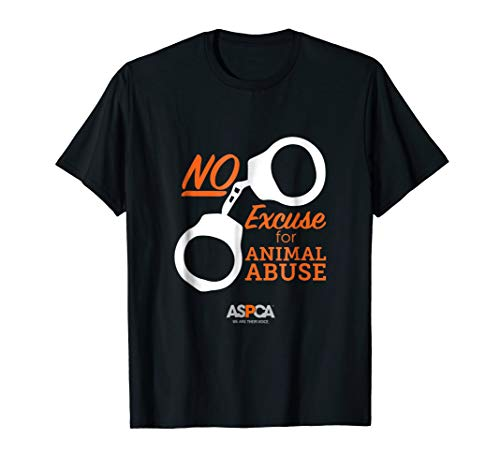 ASPCA No Excuse for Animal Abuse T-Shirt - Double Hem