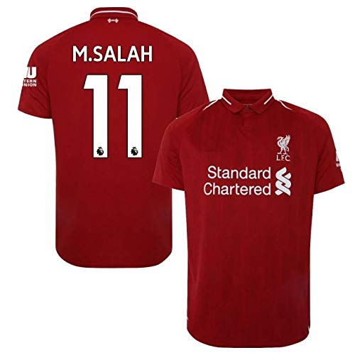 6b26b3283 Liverpool Mohamed Salah  11 Soccer Jersey   Shorts Kids Youth Sizes Football  World Cup Premium