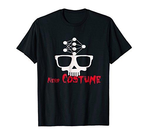 Nerd Costume, Funny Costume T Shirt for nerds, IT guys