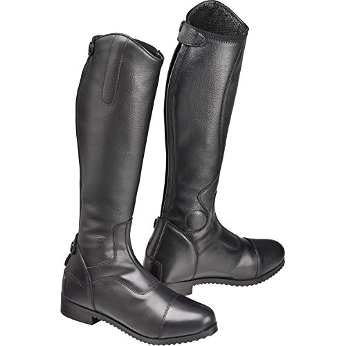 Harry Hall Junior Edlington Long Riding Boots Black YofpM2L