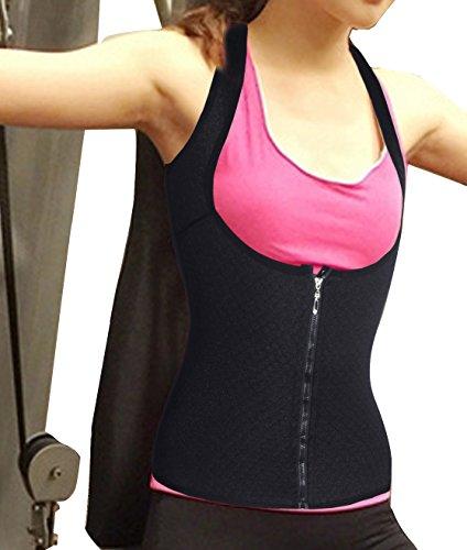 [waist cincher vest no latex corset lingerie sets hot sweat shapers hot waist belt with slimming gel shapewear corset sauna suit for men body suit costume women (M,] (Lady Law Costume)