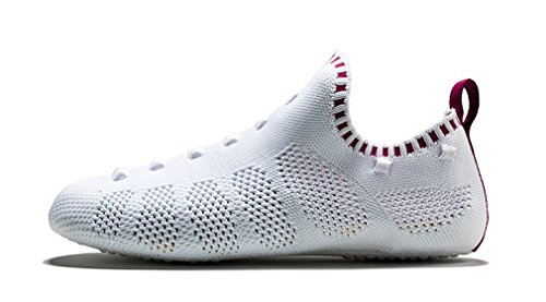 Awesome Sneaker I Rome Athletic Shoes 3 1 white Lightweight Women in Burgundy Men 54na5qA