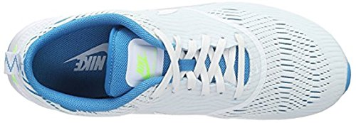 Nike Womens Air Max Thea Em Bianco / Bianco-blu Laguna-fantasma Verde