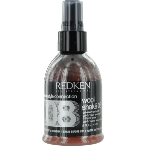 Redken Wool Shake 08 Gel-Slush Texturizer Gel for Unisex, 5 Ounce by REDKEN