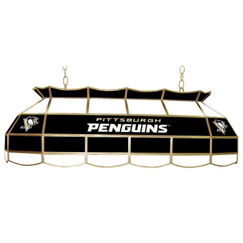 NHL Pittsburgh Penguins Tiffany Gameroom Lamp, 40