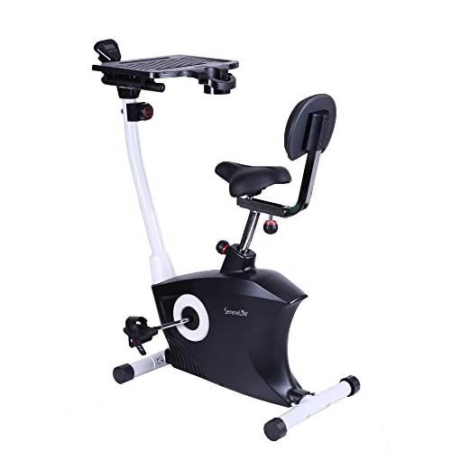 1524a0c6062 SereneLife Exercise Bike - Upright Stationary Bicycle Pedal Cycling ...