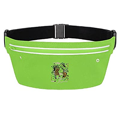 Beauty Dragonfly Sport Waist Bag Fanny Pack Adjustable For Run