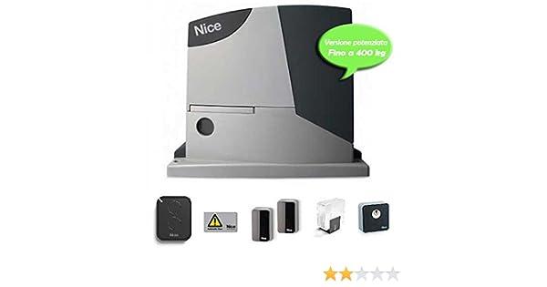 Kit de motor de puerta corredera RDKCE Nice: Amazon.es: Electrónica