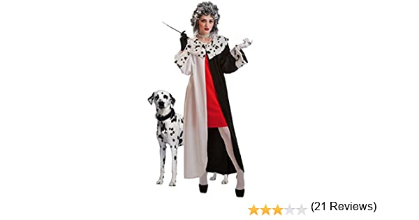 THE BEST COSTUME - Disfraz cruela adulto talla M: Amazon.es ...