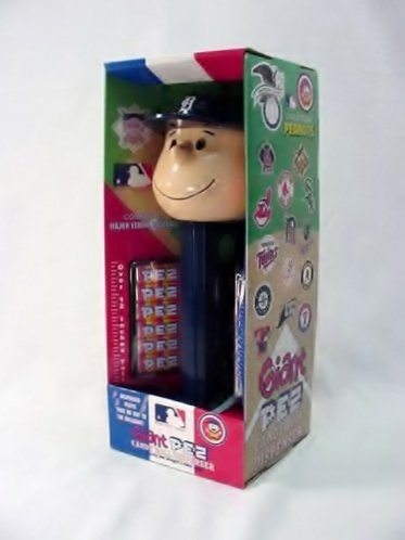 (Charlie Brown Detroit Tigers - Giant Pez Dispenser)