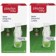 Playtex Baby Nurser Drop-Ins Baby Bottle Disposable Liners, Closer to Breastfeeding, 8 oz, 200 Count