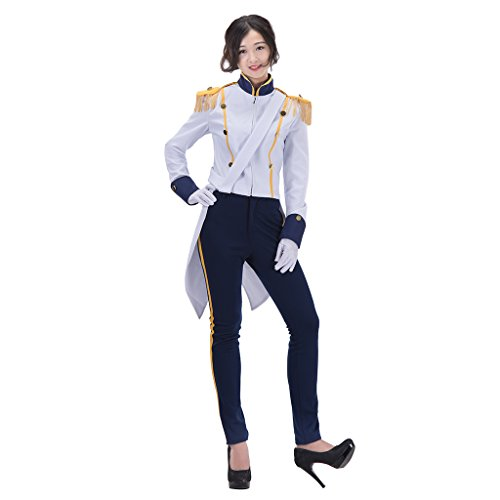 CosplayDiy Women's Suit for The Little Mermaid Prince Eric Cosplay M -