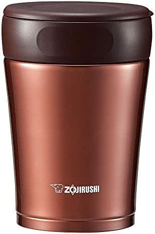 Stainless steel food jar 360ml Nuts Brown SW-GC36-TA by Zojirushi