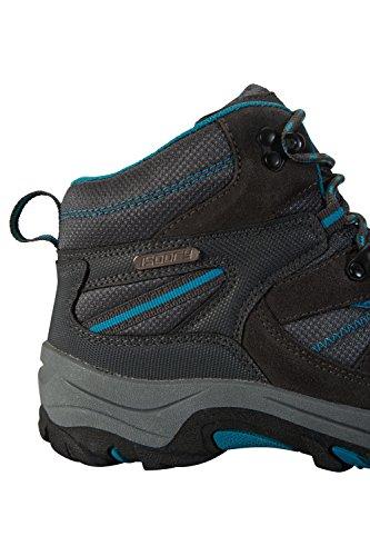 Scarpe Trekking Verde Suola Alte Pelle Gomma Impermeabili Stivali Da Donna E Warehouse Scamosciata Rapid blu Mountain In Mesh Passeggio Tnw6x8YZ4q