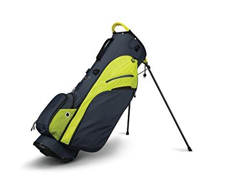 Callaway Golf 2018 Fusion Zero Stand Bag, Titanium/ Neon Yellow/ Black