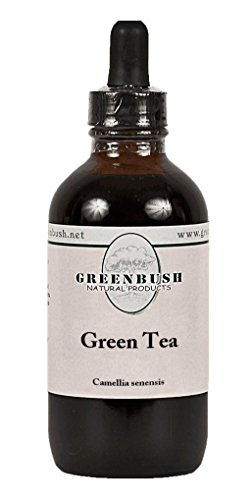 Green Tea Concentrated Alcohol-Free Liquid Extract. Value Size 4oz Bottle (120ml) 240 Doses of 1/2 ml. Weight Loss, Fat Oxidation, Metabolism Boost, Skin - Extract Liquid Green Tea