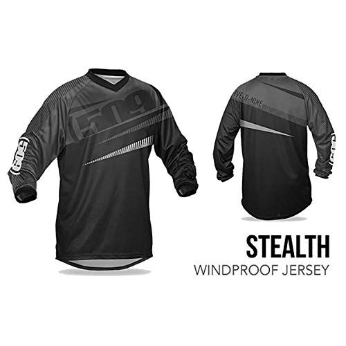 (509 Windproof Jersey (Stealth - 2X-Large))
