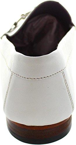 Gucinari  Amp 005, Mocassins pour homme blanc blanc