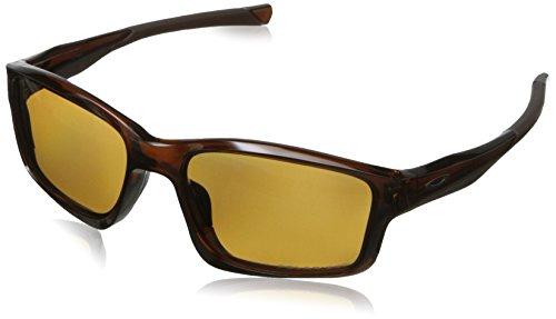 Oakley Men's Chainlink Rectangular Eyeglasses,Black Ink,57 m