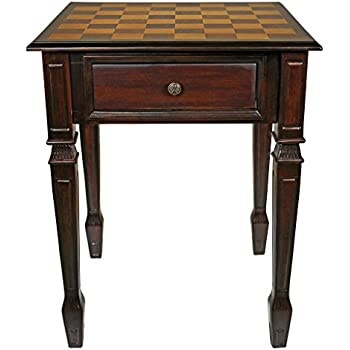 Design Toscano Walpole Manor Gaming Chess Table