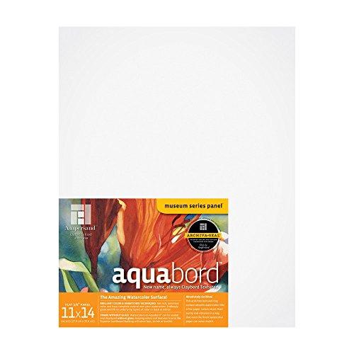 "Ampersand Aquabord 1/8"" Flat Panel - 11x14"""
