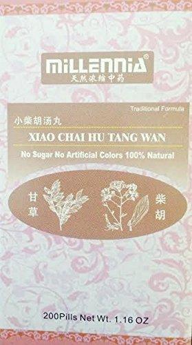 Xiao Chai Hu Tang Wan (Minor Bupleurum Decoction Pill), 200 Pills (Wan Hu Chai Tang Xiao)
