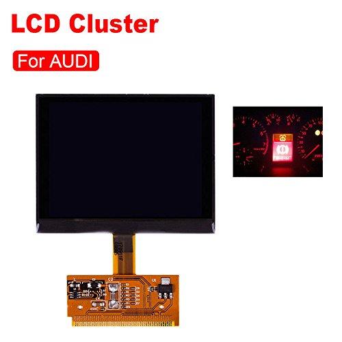 Écran d'affichage à cristaux liquides pour l'écran d'affichage de compteur de vitesse de rechange durable d'Audi A3 A4 A6 Zantec