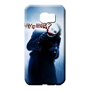 samsung galaxy s6 edge Heavy-duty With Nice Appearance Back Covers Snap On Cases For phone phone cover case joker why so serious