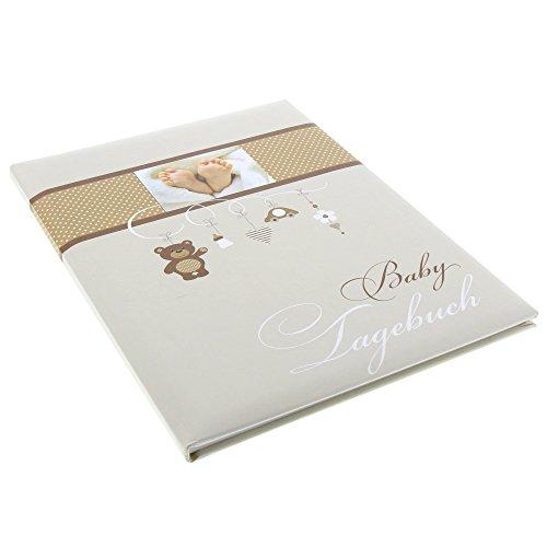 Goldbuch Babytagebuch Little Mobile, 21x28cm, 44 illustrierte Seiten mit Pergamin, Kunstdruck mit UV-Lack, 11237