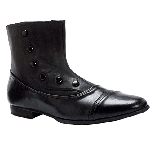 MENS SIZING Wingtp Ankle Boots Victorian Style Spat Shoes Size: Medium Colors: (Victorian Button Boots)