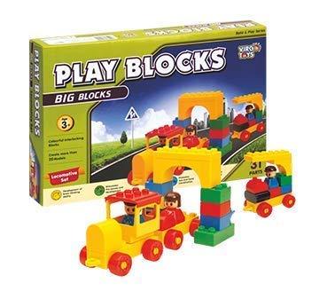 Smart Picks Play Blocks Locomotive Set