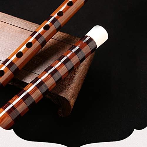 Flautas de bamb/ú Flautas traveseras Chino Dizi amarga Principiante o Rendimiento Tradicional Hecho a Mano Musical Instrumento Musical de Viento de Madera Popular Regalo Flautines Color : A Key