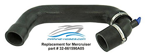 32-861590A05 Replacement Mercruiser part for 4.3L 5.0L 5.7L V8 GM Hose Circulation Pump